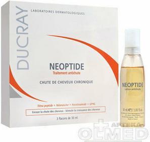 Ducray Neoptide - kuracja dla kobiet przeciw przewlekłemu wypadaniu włosów w sprayu 3x30ml