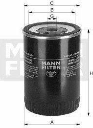 MANN Filtr paliwa -FILTER WK712/2 WK 712/2