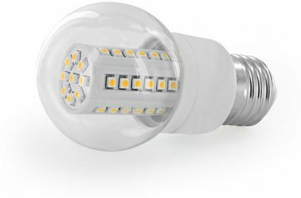 Whitenergy Żarówka LED E27, 45x SMD 3528 E27 8270
