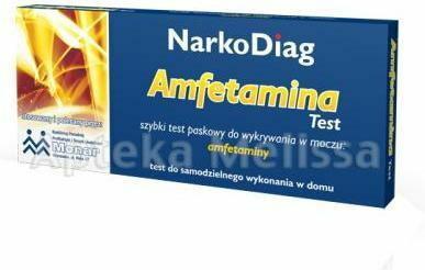 Diagnosis TEST NARKODIAG - Amfetamina - 1 szt. 9046122