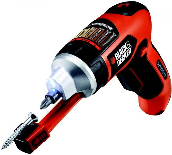 Black&Decker Black&Decker AS36LN-QS wkrętak 3,6V Li-Ion AutoselectR