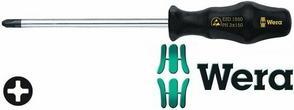 Wera Wkrętak (śrubokręt) krzyżowy PH2x200 mm, antystatyczny Kraftform ESD 1550 (