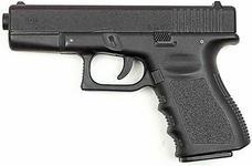 Pistolet GLOCK-19 z gazem obronnym.