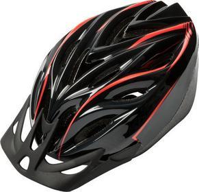 Kross Kask rowerowy COMFY czarno-czerwony