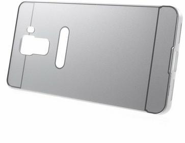 XGSM Srebrne Etui Metal Bumper Plastic Cover HUAWEI Honor 7 Srebrny