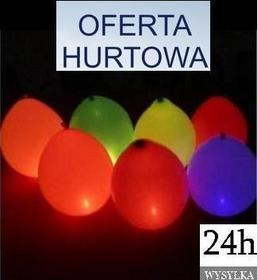 OFERTA HURTOWA Balony LED 100szt. WYSYŁKA GRATIS