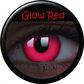 Maxvue Vision Crazy Lens UV Glow - Glow Red 2 szt.