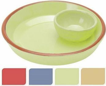 Ceramiczne Naczynie żaroodporne TAPAS na przekąski - zielony