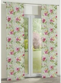 Dekoria Panel 2 szt. Flowers/Luna róże na miętowym tle