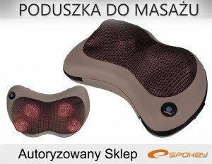 Spokey PODUSZKA MASAŻER MASUJĄCA DO MASAŻU KARKU 81F0-75434