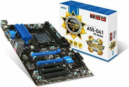 MSI A55-G41 PC Mate