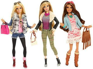 Mattel BARBIE BLR55 MODA BARBIE LUX