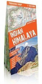 Himalaje Indyjskie (Indian Himalaya) laminowana mapa trekkingowa