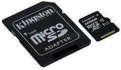 Kingston MicroSDXC class 10 ( + adapter ) 128GB