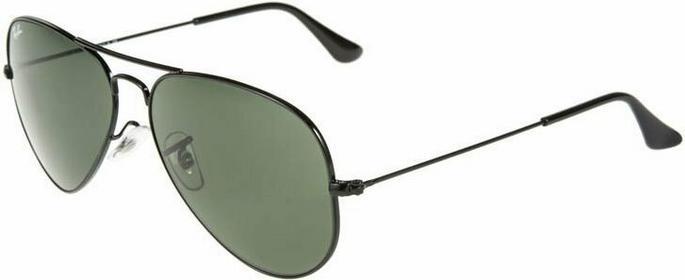 Ray Ban Ray-Ban AVIATOR Okulary przeciwsłoneczne czarny 0RB3025