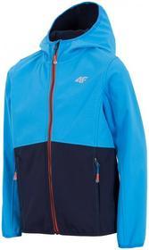 4F [T4Z16-JSFM001] Softshell chłopięcy JSFM001 niebieski jasny [T4Z16-JSFM001] Boys softshell JSFM001 light blue