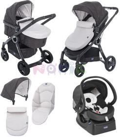 Chicco Urban Plus crossover 3w1 sandshell