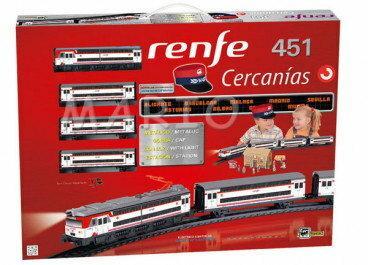 Pequetren HISZPAŃSKA Kolejka elektryczna RENFE CARCANIAS 685 685