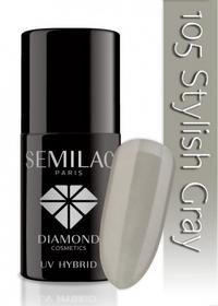 Semilac Lakier hybrydowy 105 Stylish Gray