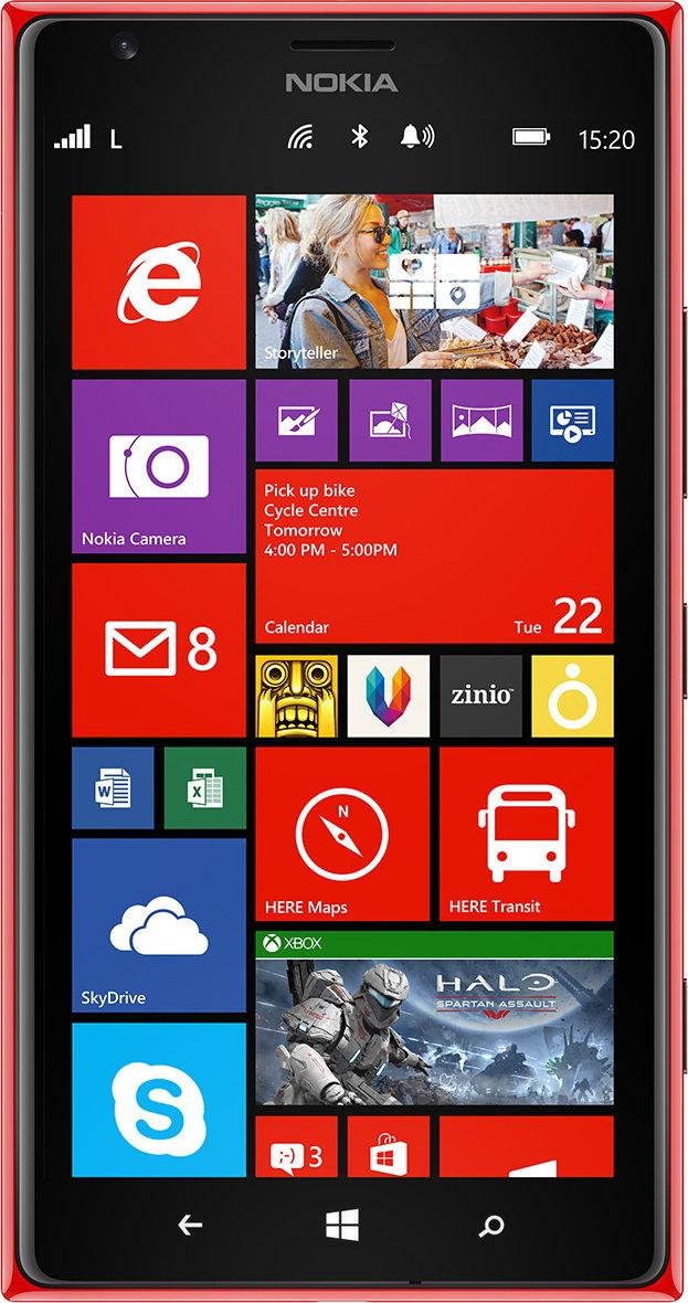 Nokia Lumia 1520 Czerwony