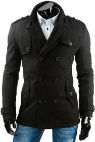 DStreet Płaszcz męski czarny (cx0301)