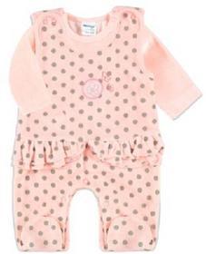 Dirkje Girls Baby Komplet 2-częściowy light pink/sand 31T-18307H_1