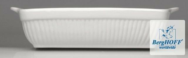 Berghoff BIANCO 30,5x26x7 CM PROSTOKĄTNE NACZYNIE DO PIECZENIA 1691077