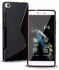 S-Line Obudowa Huawei P8 Lite Czarna - Czarny