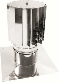 Jeremias Nasada kominowa fi 130 obrotowa typu HURICAN z podstawą płytową kod HCT