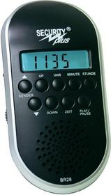 Radio rowerowe Security Plus CM 4.1 Blackline czarne MP3 USB