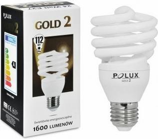 Polux świetlówka energooszczędna GOLD 2 mini 24W E27 SE9696
