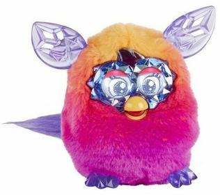 Hasbro Kryształowy Furby Crystal Boom Pomarańczowo Różowy A9615