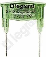Legrand Neonówka zielona 8-12V 15MA - 775899
