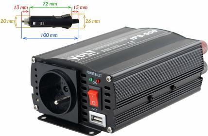 VOLT  PRZETWORNICA IPS-500 24V / 230V 350/500 W IPS-500 24 V