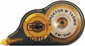 TOMA Korektor w taśmie 5mm/8m TO-012
