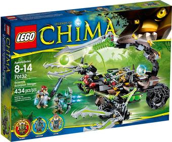 LEGO Legends of Chima 70132 Żądło Scorma