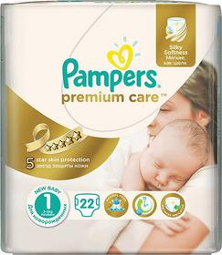 Pampers Premium Care 1 Newborn 22 szt.