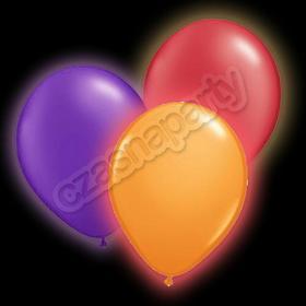 Świecące Balony LED na halloween 1 szt.
