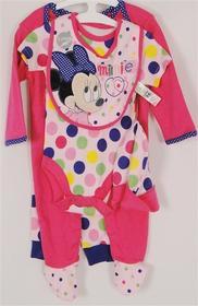 Komplet Minnie Mouse z bawelny dla dziewczynki