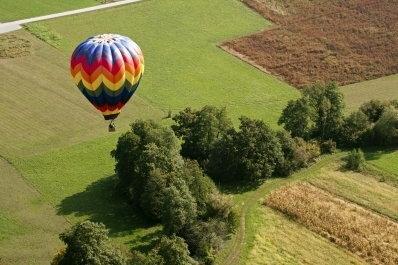 Lot balonem - Warszawa