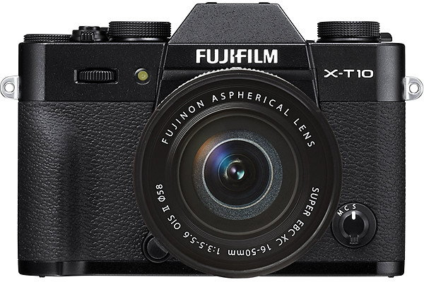 Fuji X-T10 + 16-50 II czarny