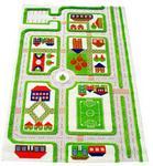 IVI wan Miasto Zabaw 3D 100 x 150 cm zielony