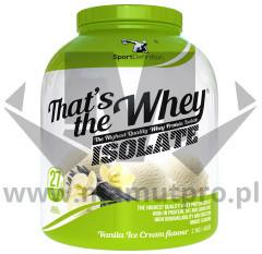 Sport Definition Thats the Whey Isolate - 2100g