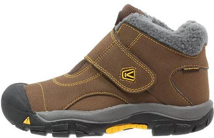Keen KOOTENAY WP Śniegowce dark earth/spectra yellow 1013543
