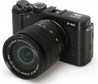Fuji X-M1 + 16-50 kit czarny