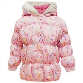 kurtka na zime dla dziewczynki Sugar Pink