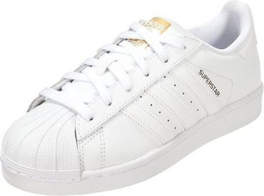adidas Originals SUPERSTAR FOUNDATION Tenisówki i Trampki white ILC87