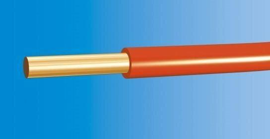 Telefonika Kable PRZEWÓD DY-4mm2 450/750V H07V-U CZERWONY