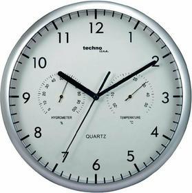 Technoline Zegar kwarcowy ścienny analogowy WT 650 r. 26 cm termo-higrometr