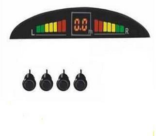 Profesjonalny zestaw czujników parkowania z 4-sensorami. Idealne urządzenie
